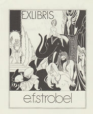 E.F.Strobel-Matza (4)  EXLIBRIS