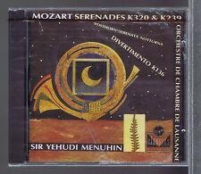 YEHUDI MENUHIN (CD NEW ) MOZART SERENADES K320 & K239