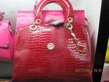 Women Fashion Bag - Red Leather handbag,Tote/Purse/Retro Messenger Bag