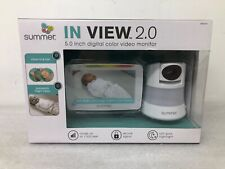 """Summer In-View 2.0 5"""" Digital Color Baby Monitor 29650A"""
