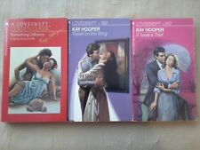Lot 3 Kay Hooper LOVESWEPT Raven on the Wing It Takes Thief Something Different