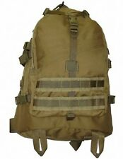 TAS 1198 MILITARY RECON BACKPACK KHAKI 40L WITH FREE!! 2LT WIDE MOUTH BLADDER