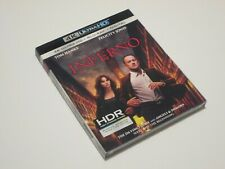 Inferno 4K Ultra HD + Blu-ray + Digital (Expired) with Slipcover - Tom Hanks