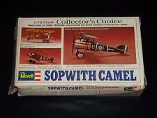 MAQUETTE - SOPWITH CAMEL - REVELL -1/72 - MODEL KIT - COMPLETE