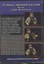 Fiddle Improvisation with Cam Neufeld Tuition DVD Learn How To Improvise