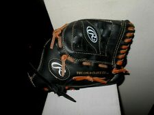"Rawlings Youth Baseball Glove Pl110Mb 11"" Right Hand Throw Black (Vg) Ships Free"