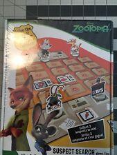 """""""ZOOTOPIA SUSPECT SEARCH GAME"""" NEW in plastic"""