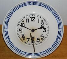 G.B GB ANCIEN horloge MONTRE mural CERAMIQUE wall CLOCK Wanduhr PENDULE CONTOISE