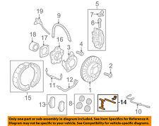 PORSCHE OEM 05-16 Boxster Brake-Rear-Mount Kit 99635295901