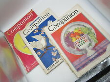 3 Issues Woman's Home Comapnion November 1931 May 1935 March 1940