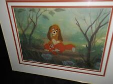 Disney Collectibles Cel Fox and Hound