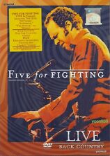 Five For Fighting: Live - Back Country (2007) DVD Region All