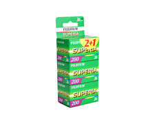 3 rolls Fujifilm Superia 200 Color Film 35mm 36exp 135-36