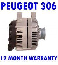 Peugeot 306 2.0 90 HDI 1999 2000 2001 2002 alternator 12 month warranty