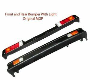 Suzuki Samurai SJ413 410 Sierra Drover Jimny Front & Rear Bumper Set With Lights