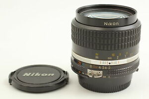 【 Excellent ++++ 4 】  Nikon  Ai-s Nikkor 35mm f/2 Wide Angle Lens AIS From JAPAN