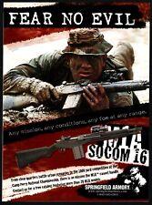 2005 M1A Socom 16 Rifle Fear No Evil ~Springfield Armory Ad Original Advertising