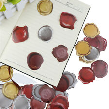 45pcs Wax Seal Decor Stickers Diy Diary Sticker Gift Lable Adhesive Sticker Fp