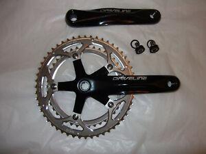 New Driveline Double Chainwheel Road Bike Crank Set 42-52T 170mm Alloy 12 spline