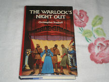 THE WARLOCK'S NIGHT OUT by CHRISTOPHER STASHEFF   **SIGNED** -BCE-  -DM-
