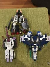 Transformer Robots In Disguise 2003 -  Jets 40621  3 Figures !