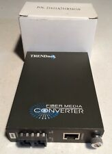 TRENDnet Fiber Media Converter TFC-1000MSC with power supply free shipping