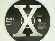 Apple Mac OS X Server 10.3 Panther Three Disk Set