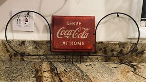 Vintage Coca Cola Grocery Store Isle Marker 1950's