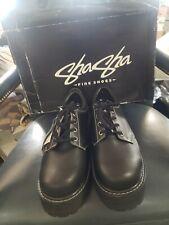 Vintage Sha Sha Shoes Black Mens Size 12 New