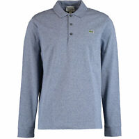Lacoste Men's Long Sleeve Polo Shirt Slim Fit  Size 8 3XL Classic Blue BNWT