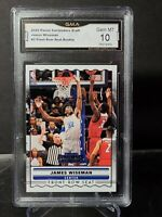 James Wiseman 2020-21 Contenders  Front-Row Seat Rookie Memphis #SS-3 GMA10 PSA