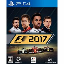 F1 2017   SONY PS4 PLAYSTATION 4 JAPANESE VERSION