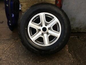 """Ford Ranger Alloy Wheel Limited 17"""" Genuine Ford Item With Chunky Tyre Free P&P"""