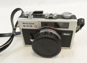 RICOH 500 G Rangefinder 35mm Film Camera with 40mm F/2.8 Lens