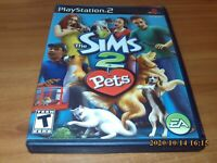 The Sims 2: Pets (Sony Playstation 2 2006) PS2 Complete