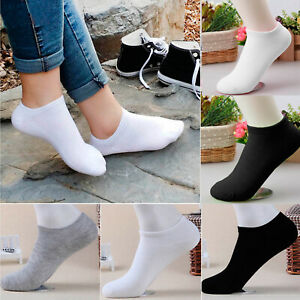 Trainer Liner Ankle Socks Pair Mens Cotton Rich Sport Invisible Low Cut Sport UK