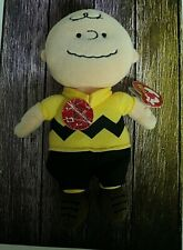 276fe53d3c9 Ty Beanie Baby Charlie Brown with Tags Peanuts Character 2010 Edition  AUCT 2692