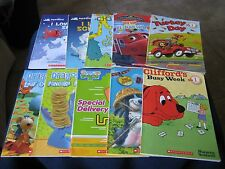 Scholastic Lot of 10 Children's Books Early Readers ~ Level 1 ~ Simple Sentences