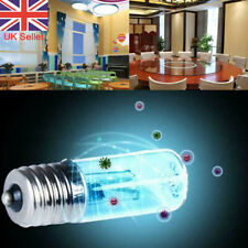 UVC Ultraviolet Lamp Bulb 3W Germicidal Disinfection Sterilization Light Quartz