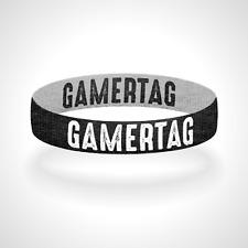 Custom Reversible Gamertag Bracelet Wristband