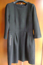 Exklusives  edles  HALLHUBER  Kleid  schwarz  Gr. 38