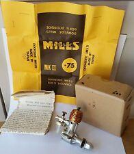 Doonside Mills .75 MKII NUOVO IN SCATOLA #007 Vintage Motore Diesel aeromodellismo
