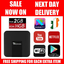 Tanix TX3 Mini 2GB RAM 16GB Android 7.1 TV Box 4K WiFi Smart Media Player