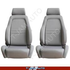 Adventurer 4x4 4WD Bucket Seat Pair 2 x Grey Cloth ADR Approved Toyota Hilux