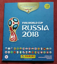 Album for Stickers Panini FOOTBALL WORLD CUP 2018 RUSSIA Official Sticker Album