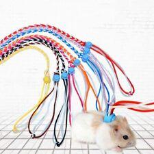 Small Pet Rat Hamster Leash Harness Rope Gerbil Cotton Rope Harness Lead Collar