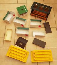 Scalextric Job Lot Bundle Buildings - Grandstand / Pit Stop - Spares Or Repair