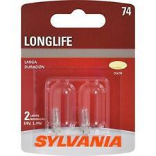 SYLVANIA - 74 Long Life Miniature - Bulb, Ideal for Interior Lighting –