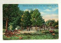Rossville Georgia Snodgrass House Chickamauga Park Vintage Postcard