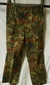 GENUINE GERMAN ARMY ISSUE FLECKTARN CAMOUFLAGE COMBAT TROUSERS